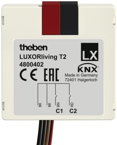 LUXORLiving T2 Push Button Interface